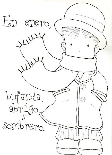 Refranes del mes de enero y febrero para niños ~ IMPRIMIR DE TODO!