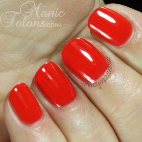 Purjoi One Step Gel Polish Fierce Swatch
