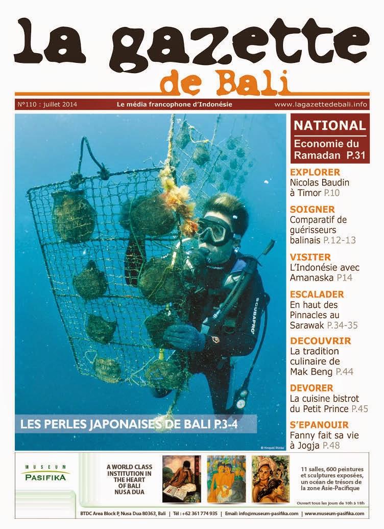 La Gazette de Bali juillet 2014
