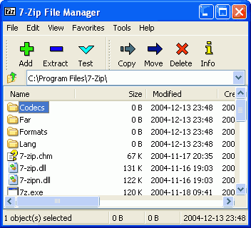 7 Zip Winzip Alternative