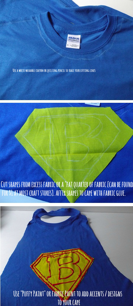 One Savvy Mom ™ | NYC Area Mom Blog: No-Sew Upcycled Super Hero Cape ...