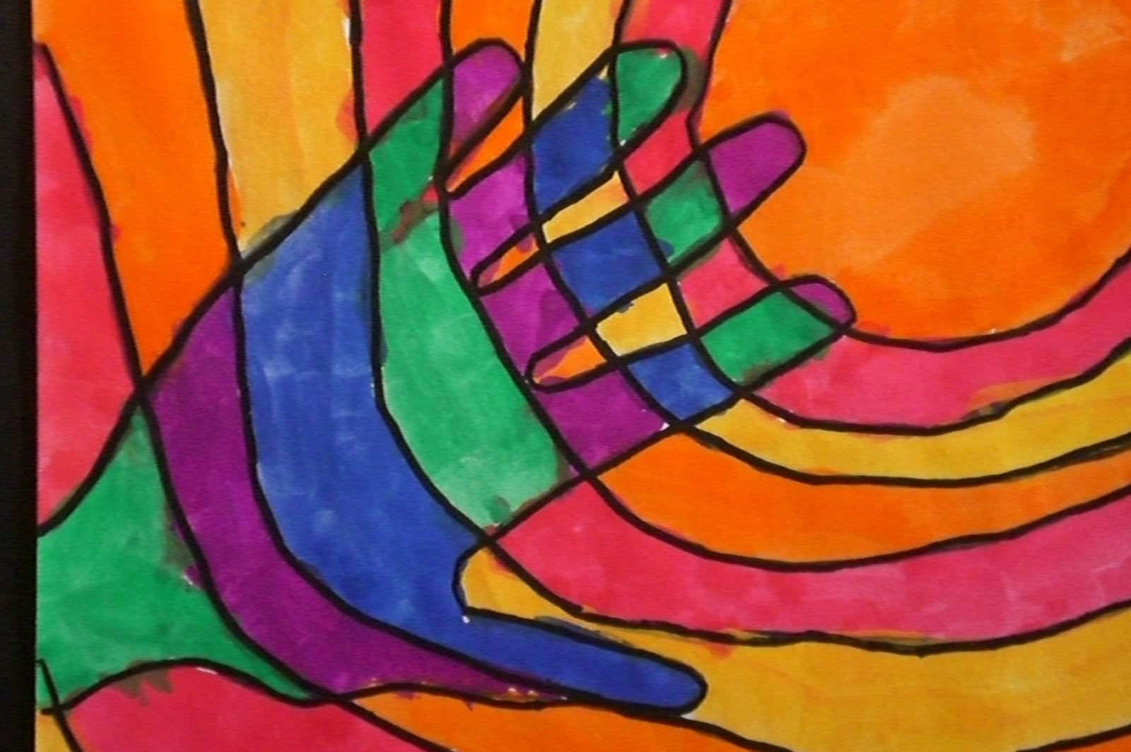 Art with Mrs. Hurley: Warm and Cool Hands