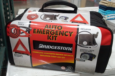 Bridgestone Auto Emergency Kit for when you have car trouble