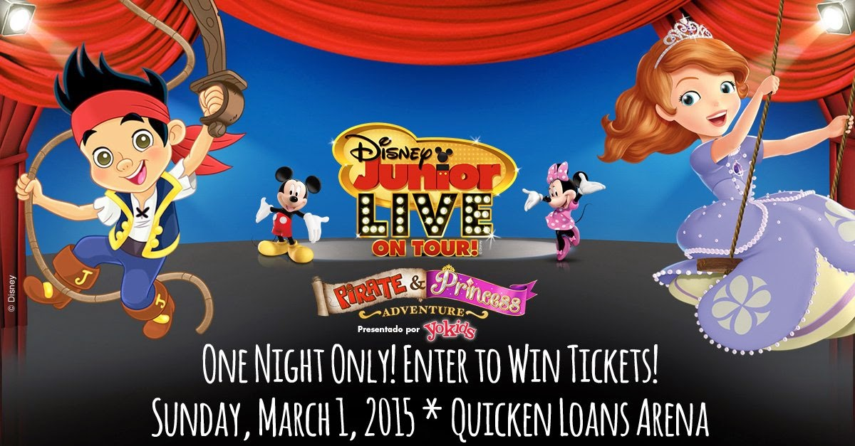 Grab Your Tiaras and Doubloons! @DisneyLive Pirate & Princess Adventure 1 Night Only - Win Tickets!