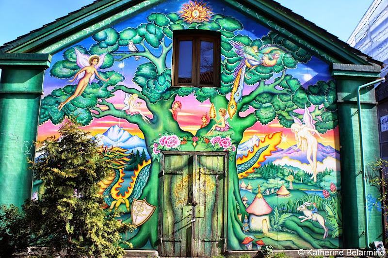 Christiania Mural Copenhagen Denmark
