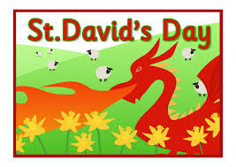 St David's Day - 1st March