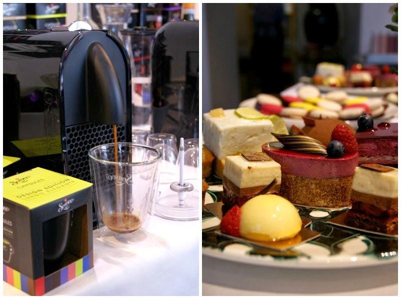 Senseo Kaffee Lungo und Espresso. Partisserie Düsseldorf