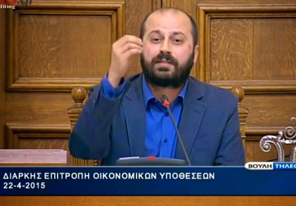 ΒΟΥΛΗ:Άδωνις σε Διαμαντόπουλο: Εσύ θα μας μιλήσεις για ήθος ρε τρομοκράτη;