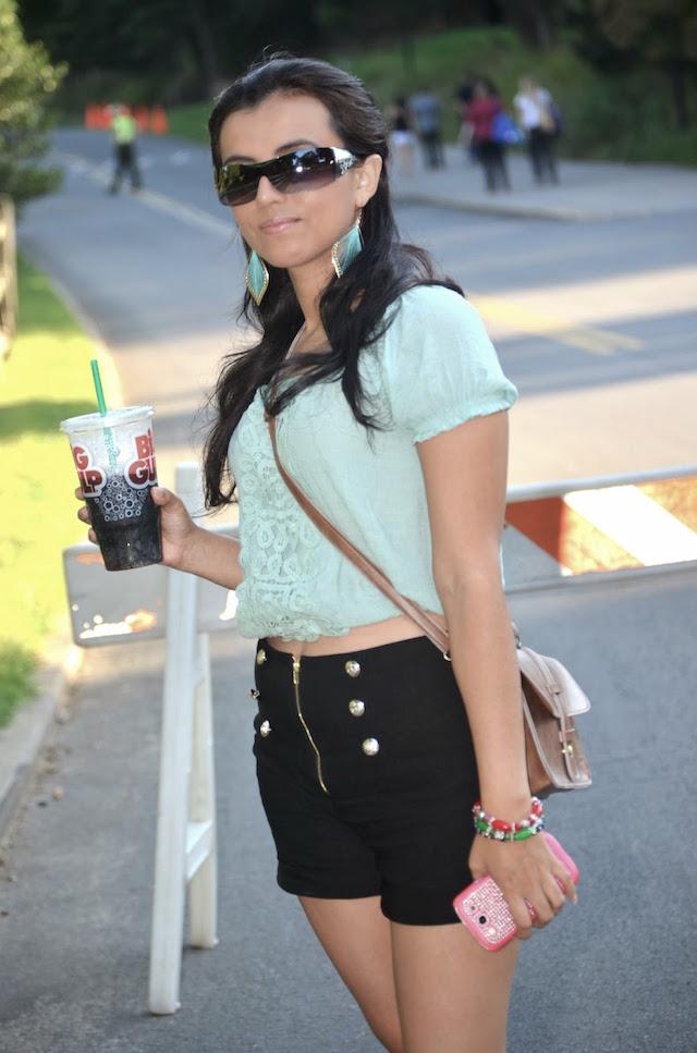 Shorts a la Cintura -Mari Estilo - Moda El Salvador- Street Style