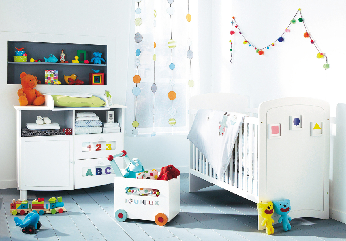 Cool baby nursery design ideas interior decorating home for Ideas for decorating baby room