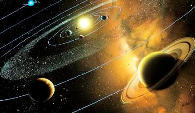 susunan sistem tata surya