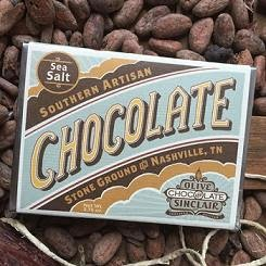 Olive & Sinclair  chocolate bar