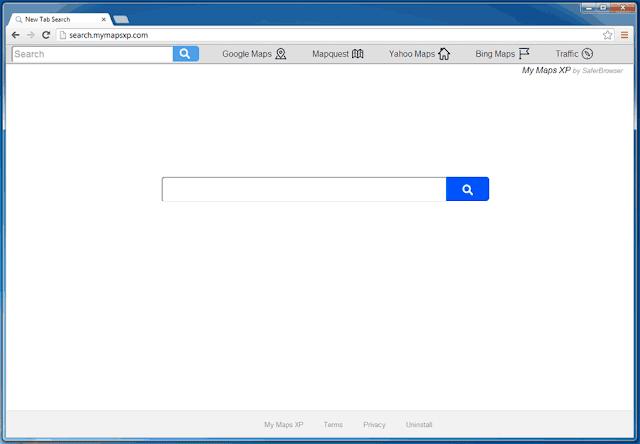 Come rimuovere Search.mymapsxp.com