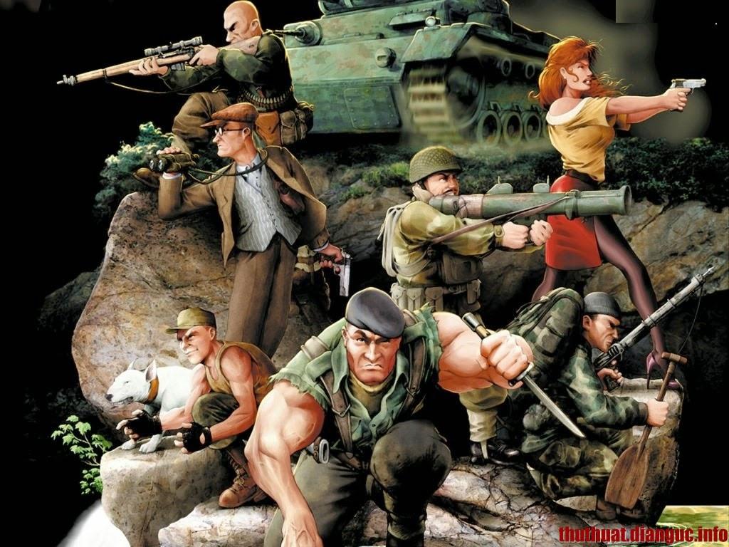 Download game Commandos 2 Full Crack – Trò chơi bắn súng đồ hoạ 3D cực hay