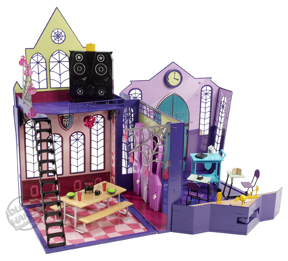 Monster High La Escuela De Juguete High