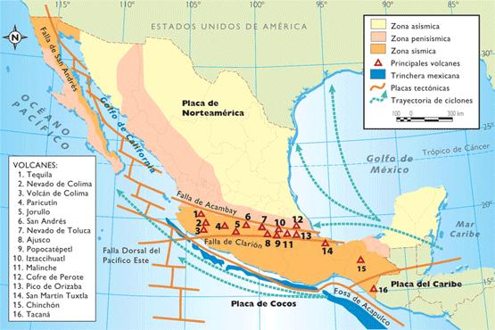 Riesgos naturales en México