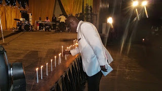 Kefee's candle light service
