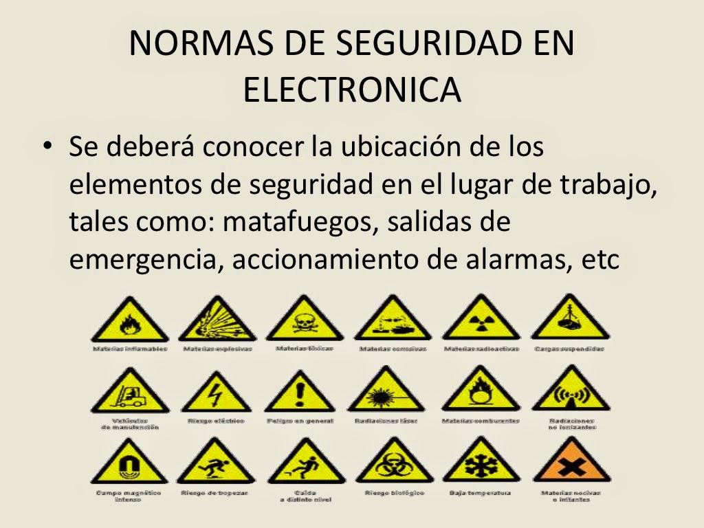 NORMAS DE SEGURIDAD PARA EL USO DE ELECTRODOMESTICOS: Normas para un ...