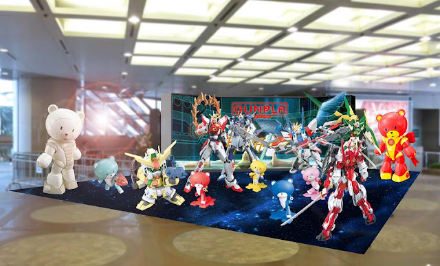 gundam build fighters try stage gundam docks at hong kong II