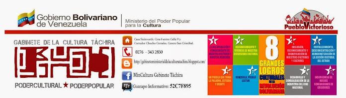 Mincultura Gabinete Táchira