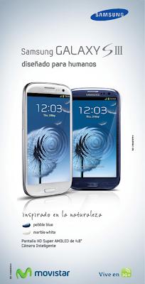 – La empresa lanza al mercado el Samsung Galaxy SIII con una atractiva oferta comercial, para que sus usuarios sean los primeros en disfrutar de las bondades tecnológicas que ofrece el equipo en conectividad multimedia a través de la red 3G+ de Movistar. Caracas, 06 de diciembre de 2012. Ratificando el compromiso de brindar la mejor experiencia en comunicaciones, Movistar se convierte en la primera operadora del país en lanzar al mercado el exitoso Smartphone, Samsung Galaxy SIII. Con una amplia gama de características novedosas, el SIII cuenta con una pantalla Súper AMOLED de 4,8 pulgadas de alta definición para