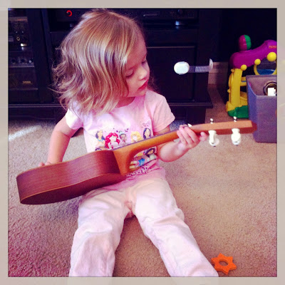 little girl guitar