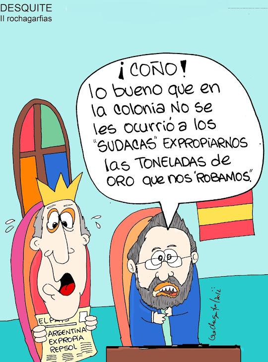 Continua la explotación española de América.