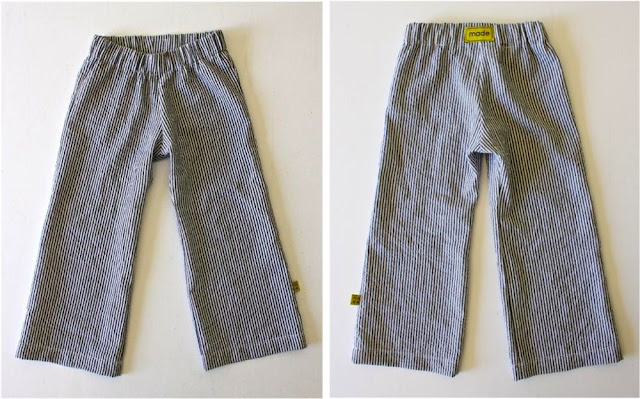 kid pants, the basic pants: sewing patterns
