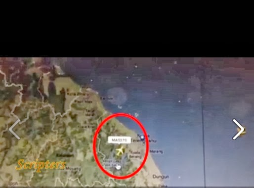 Video Terakhir Sebelum Kehilangan Pesawat #MH370 Milik MAS Dari Radar
