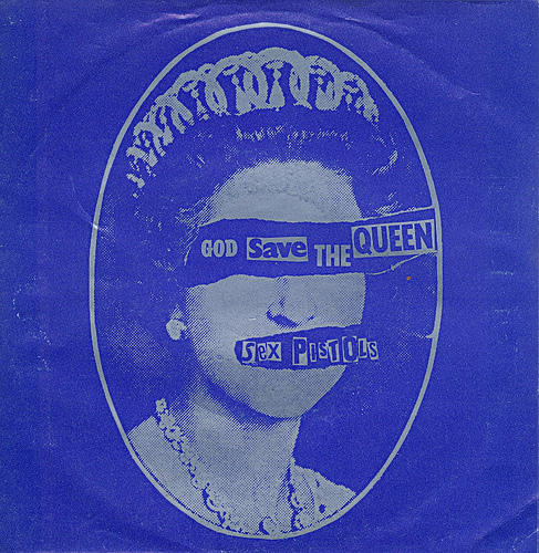 5 -  Sex Pistols -  God Save The Queen - D - 1977-  by Affendaddy