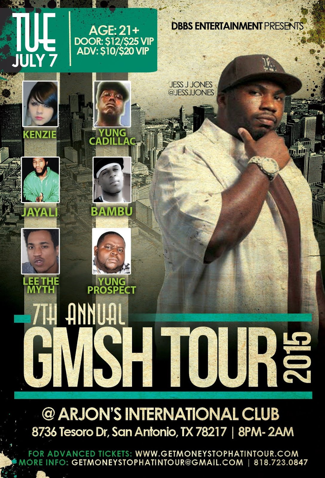 GMSH Tour-San Antonio, TX
