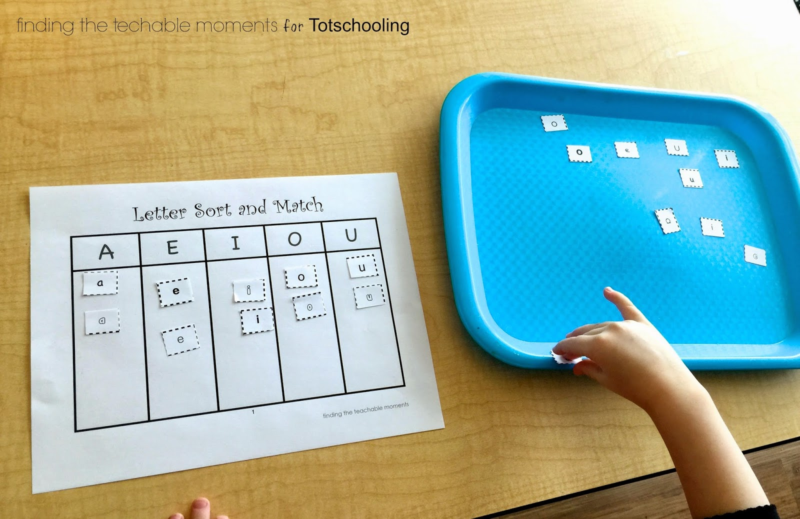 Upper and Lowercase Letter Sort & Match Free Printable ...