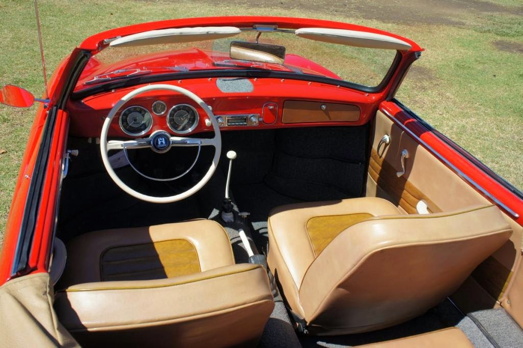 Rare Classic 1959 Karmann Ghia Low Light Convertible