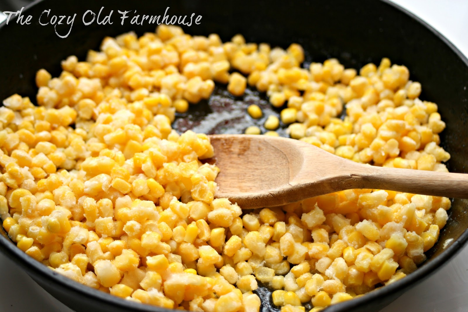 how to make skillet corn