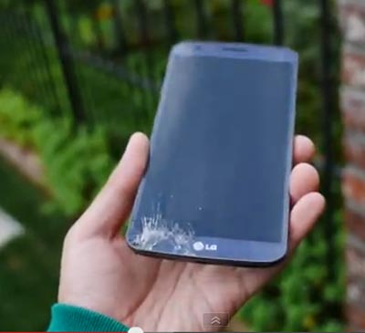 Ini Video 'Drop Test' LG G Flex