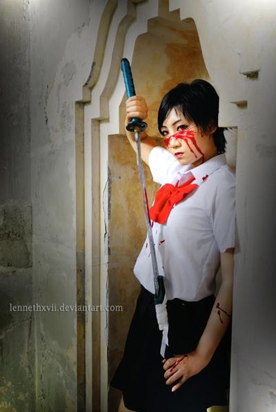 Saya Otonashi Cosplay by Lenneth