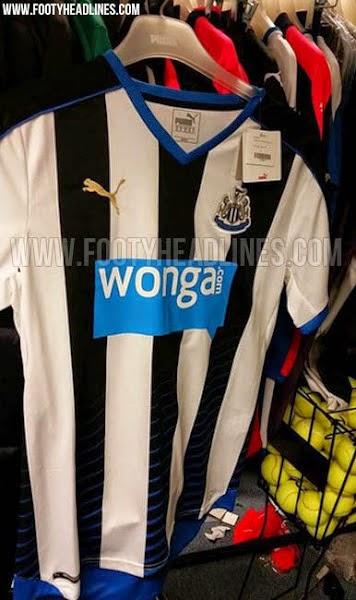 gambar bocoran jersey Newcastle home terbaru musim depan 2015/2016 kualitas grade ori made in thailand