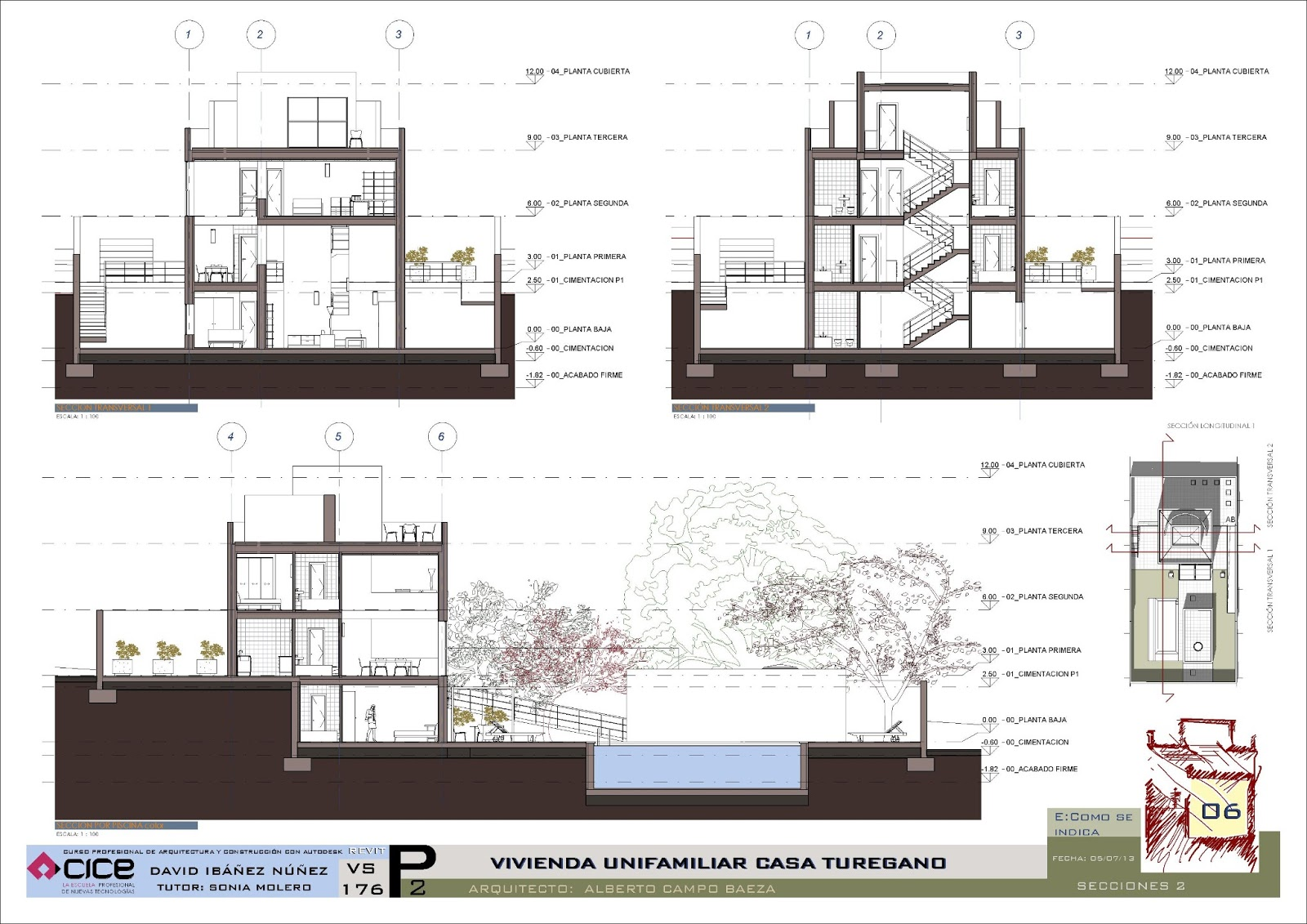 practica con revit presentacin casa turgano arquitecto campo baeza
