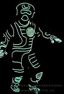 световой костюм