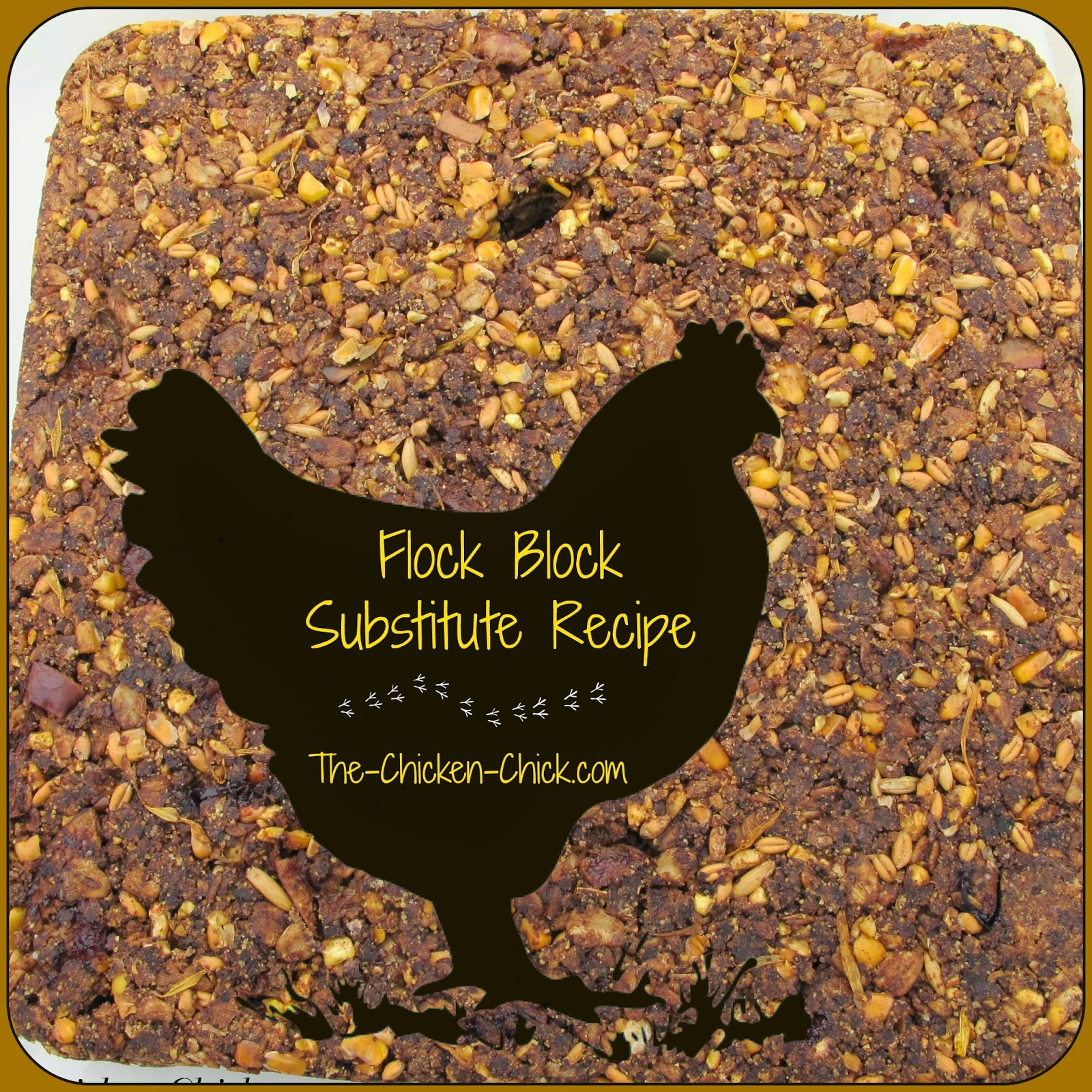 Homemade Flock Block Substitute