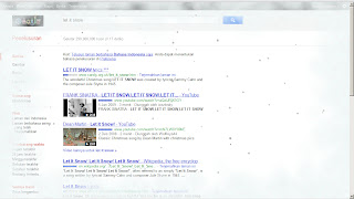 Hujan Salju Di Google
