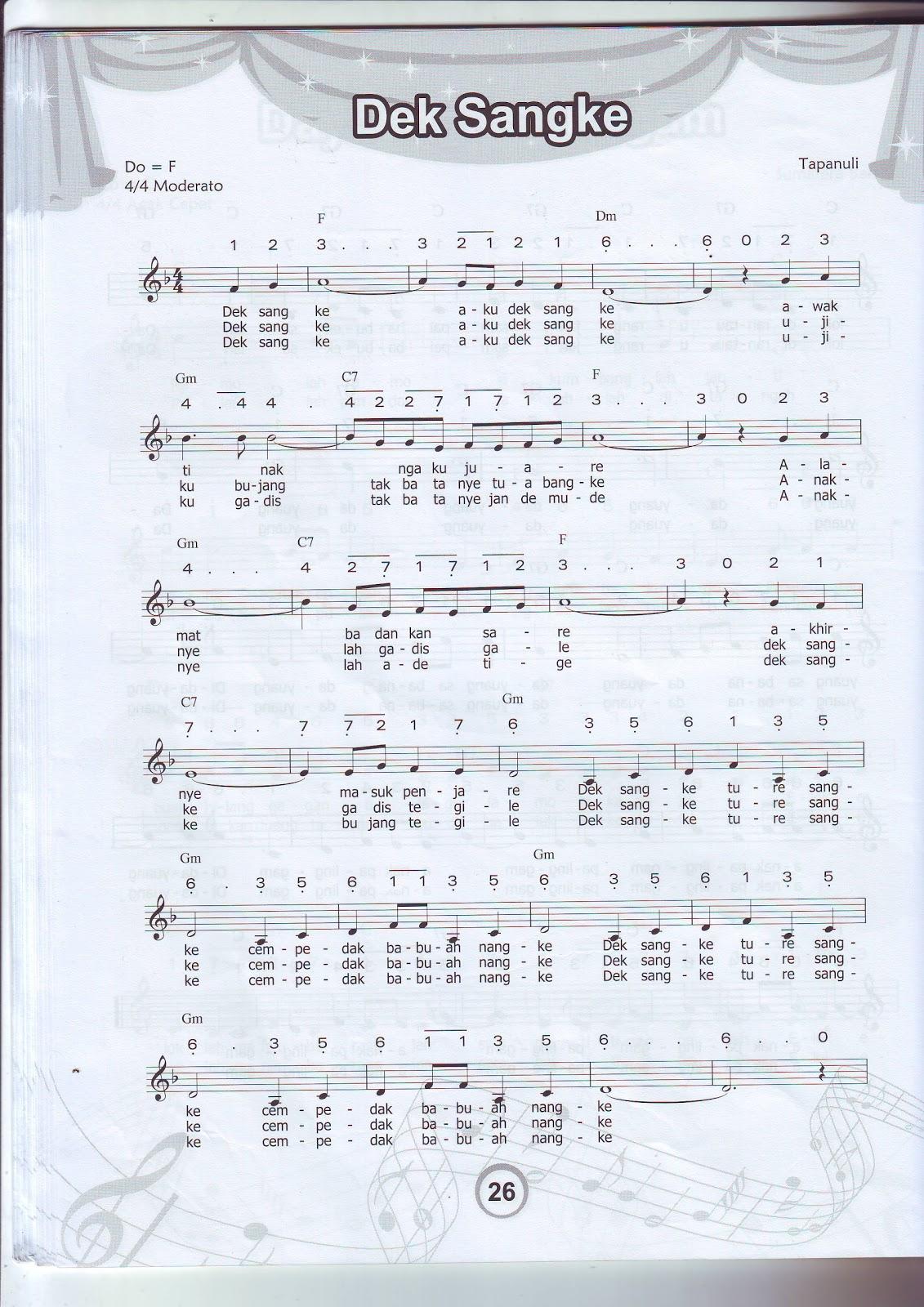 Lirik Lagu Daerah Ampar Ampar Pisang | newhairstylesformen2014.com