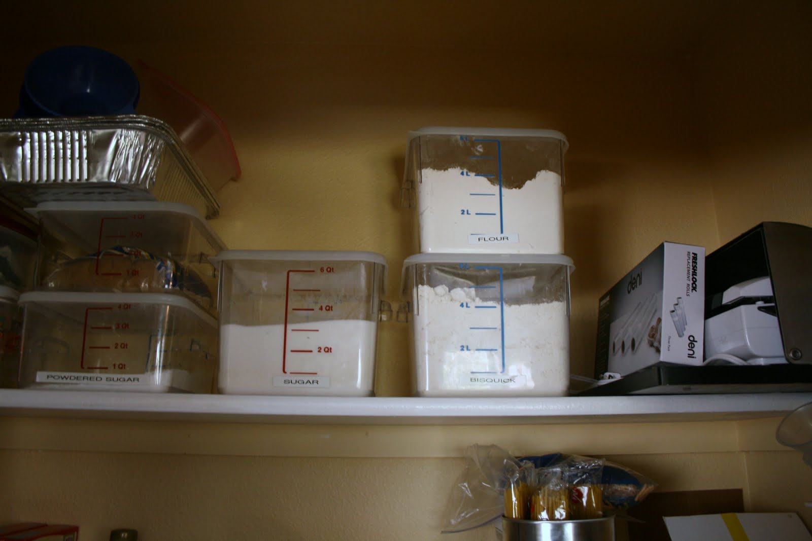 Delightfully Organized Tour My Pantry