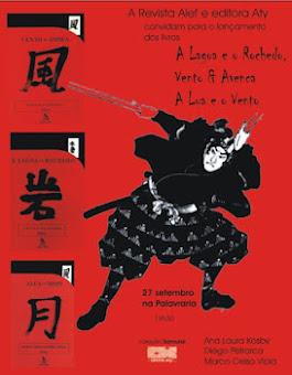 Editora Aty Lança Coleção Samurai