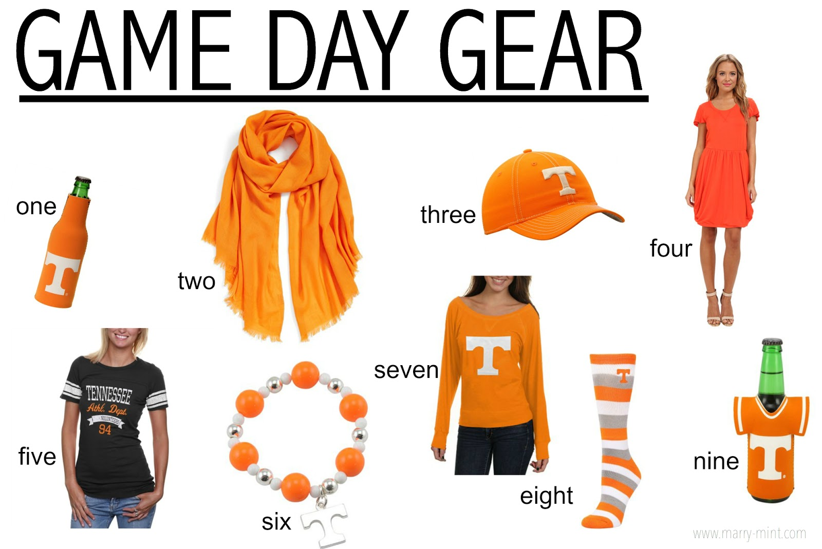 game day apparel