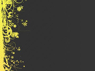 bright free yellow design