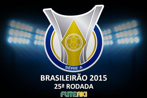 Veja o resumo da 25ª rodada do Brasileirão 2015, com vídeos dos gols e melhores momentos de cada partida.
