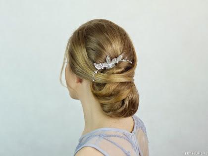 fryzura ślubna 2