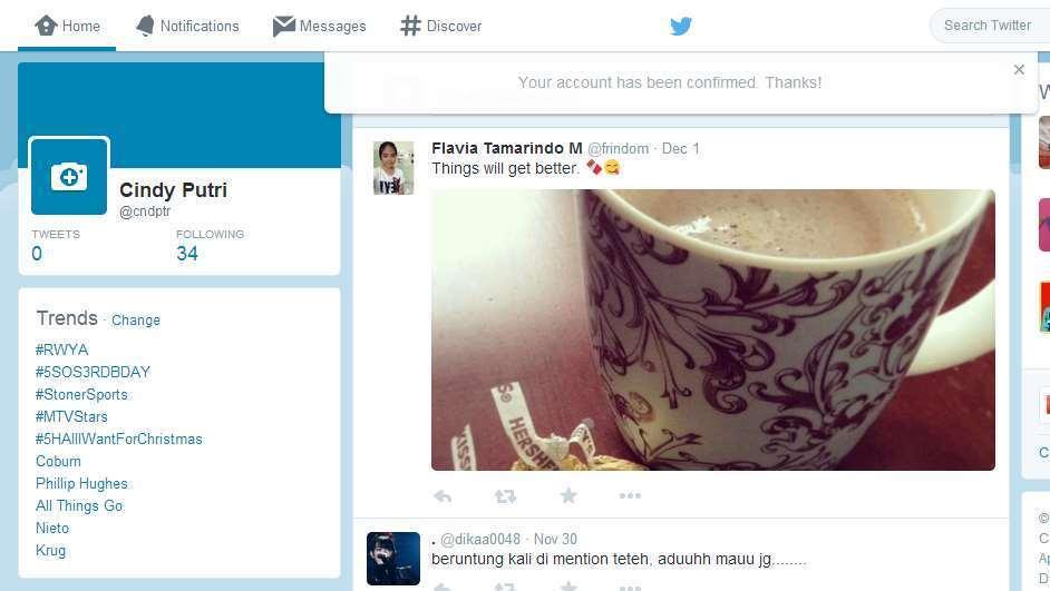 Cara Membuat Akun Twitter gambar 10