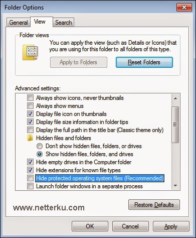 Folder Options - www.netterku.com